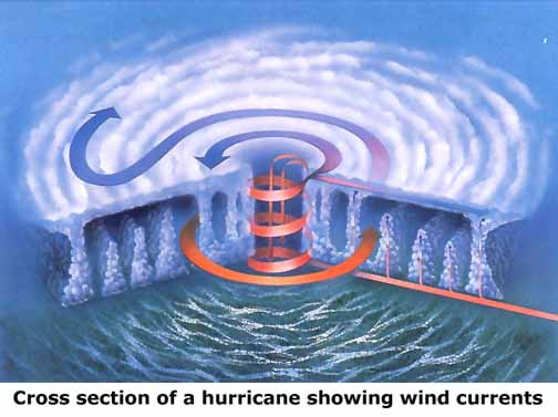 how is a hurricane different from