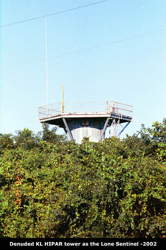Battery B radar tower- 2002