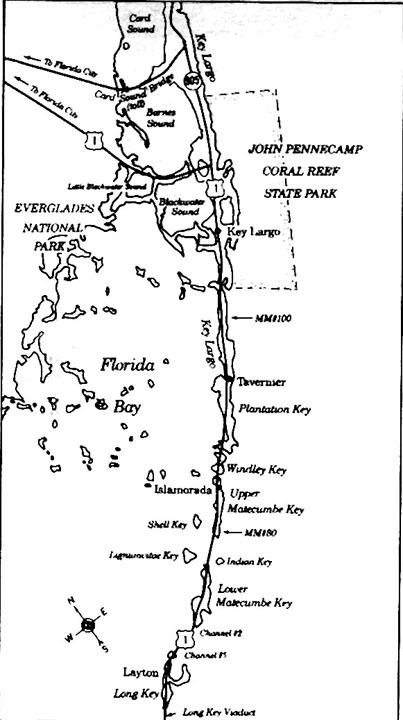 Plantation Key Florida Map   Time Zones Map